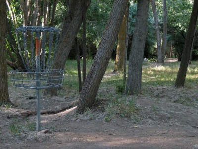 Creekside Park, Main course, Hole 3A Reverse (back up the fairway)