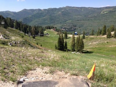 Solitude Mountain Resort, Main course, Hole F Tee pad