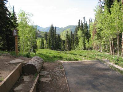 Solitude Mountain Resort, Main course, Hole 2 Tee pad