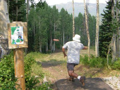 Solitude Mountain Resort, Main course, Hole 11 Long tee pad