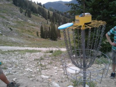 Solitude Mountain Resort, Main course, Hole E Reverse (back up the fairway)