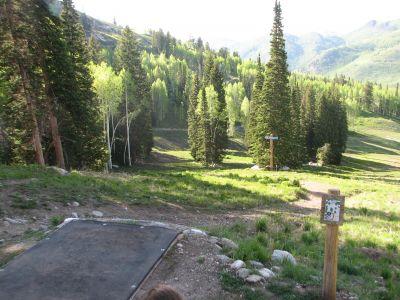 Solitude Mountain Resort, Main course, Hole 6 Tee pad