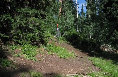 Solitude Mountain Resort, Main course, Hole 3 Short approach