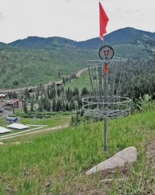 Solitude Mountain Resort, Main course, Hole 17 Putt