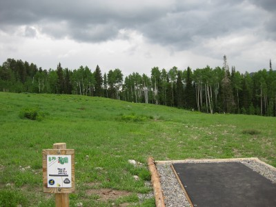 Solitude Mountain Resort, Main course, Hole 14 Tee pad