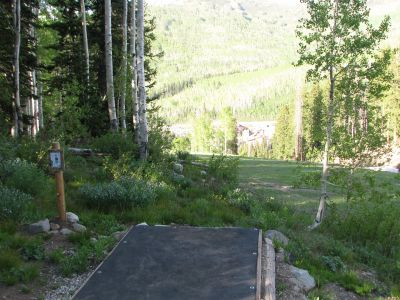 Solitude Mountain Resort, Main course, Hole 8 Tee pad