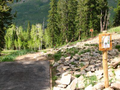 Solitude Mountain Resort, Main course, Hole 1 Tee pad