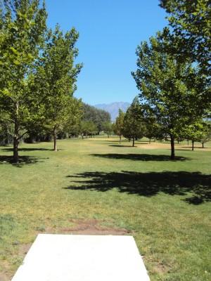 Valley Regional, Main course, Hole 9 Tee pad