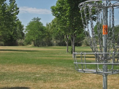 Valley Regional, Main course, Hole 3 Reverse (back up the fairway)
