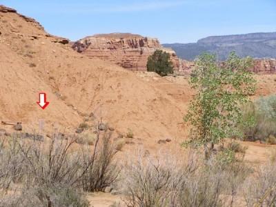 The Rim Rock, Main course, Hole 12 Tee pad