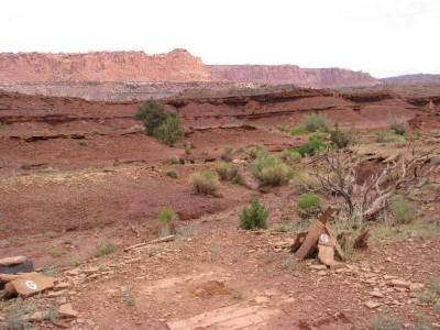 The Rim Rock, Main course, Hole 6 Tee pad