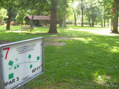 Chester City Park, Main course, Hole 7 Tee pad