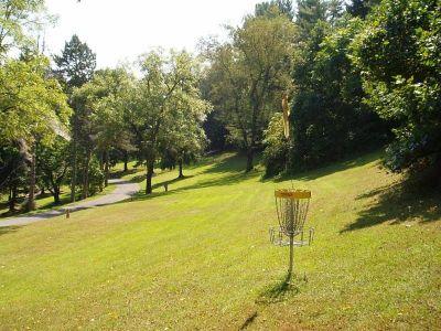 Seth Burton Memorial, Main course, Hole 14 Reverse (back up the fairway)