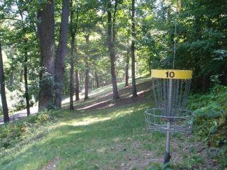 Seth Burton Memorial, Main course, Hole 10 Reverse (back up the fairway)