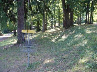 Seth Burton Memorial, Main course, Hole 11 Reverse (back up the fairway)
