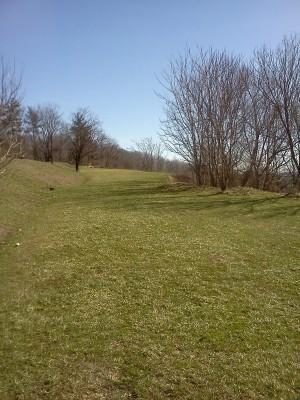 Rotary Park, Main course, Hole 9 Short tee pad