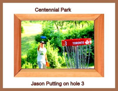 Centennial Park, Ontario Course, Hole 3 Putt