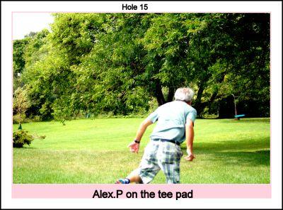 Centennial Park, Ontario Course, Hole 15 Short tee pad