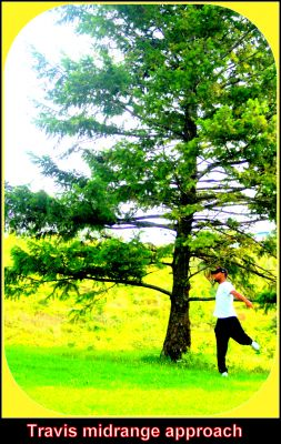 Centennial Park, Ontario Course, Hole 5 Midrange approach