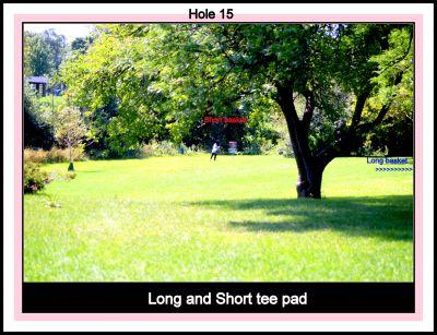 Centennial Park, Ontario Course, Hole 15 Tee pad