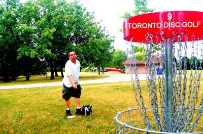Centennial Park, Ontario Course, Hole 9 Putt