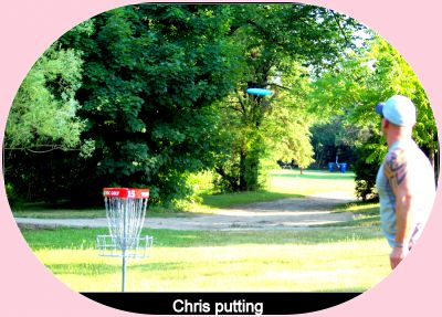 Centennial Park, Ontario Course, Hole 15 Putt