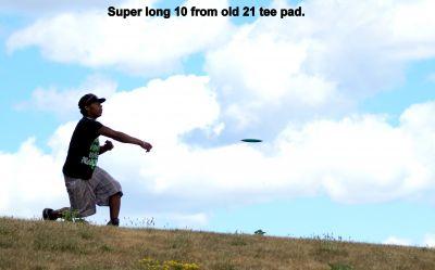 Centennial Park, Ontario Course, Hole 10 Long tee pad