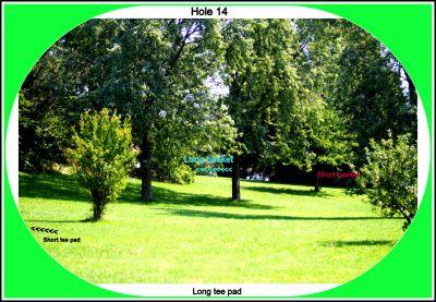 Centennial Park, Ontario Course, Hole 14 Long tee pad