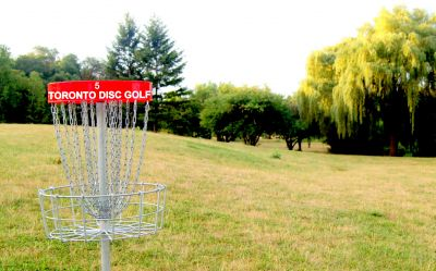 Centennial Park, Ontario Course, Hole 5 Reverse (back up the fairway)