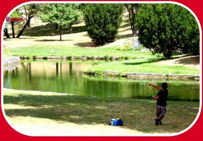 Centennial Park, Ontario Course, Hole 1 Short tee pad