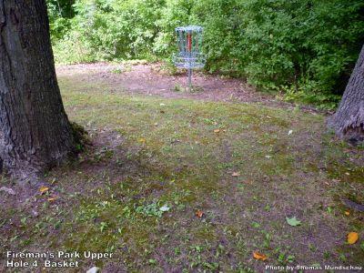 Fireman's Park Upper, Main course, Hole 4 Putt