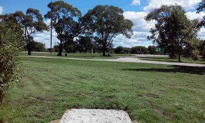Boom Park, Main course, Hole 4 Tee pad