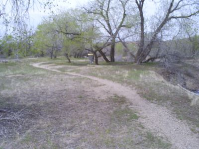 Casper DGC, Main course, Hole 4 Short approach
