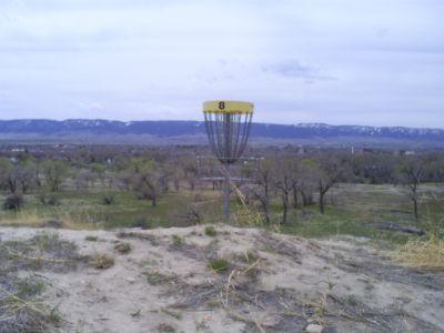 Casper DGC, Main course, Hole 8 Putt