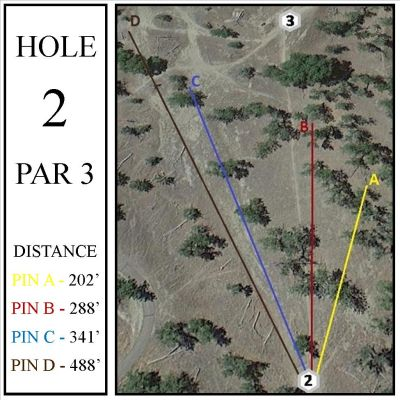 Casper DGC, Main course, Hole 2 Hole sign