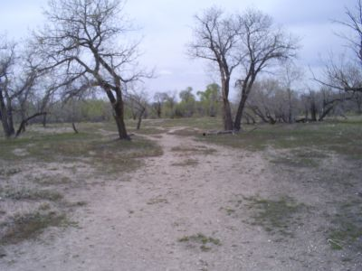 Casper DGC, Main course, Hole 15 Tee pad