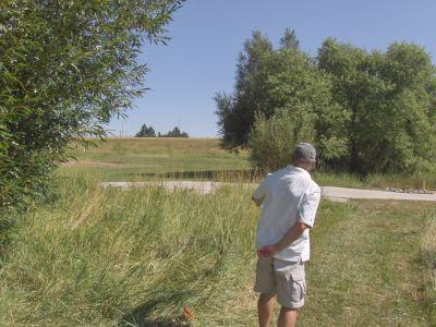 Dry Creek Parkway, Main course, Hole 12 Tee pad