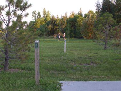 Dry Creek Parkway, Main course, Hole 9 Tee pad