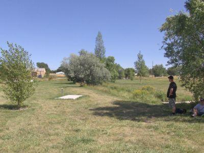 Dry Creek Parkway, Main course, Hole 6 Long tee pad