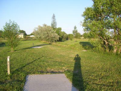 Dry Creek Parkway, Main course, Hole 6 Tee pad