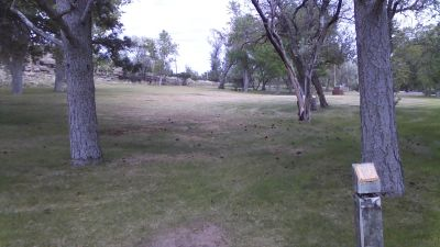 Deer Field at Washington Park, Main course, Hole 8 Tee pad