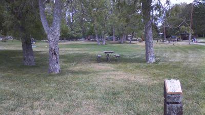 Deer Field at Washington Park, Main course, Hole 1 Tee pad