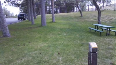 Deer Field at Washington Park, Main course, Hole 6 Tee pad