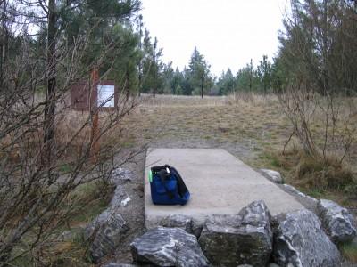 Farragut State Park, North Star, Hole 4 Tee pad
