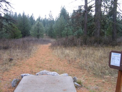 Farragut State Park, North Star, Hole 15 Tee pad