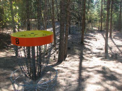 Farragut State Park, Wreckcreator, Hole 8 Putt