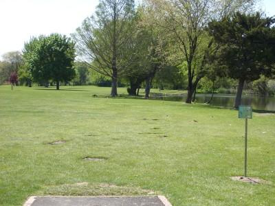 Ann Morrison Park, Southeast, Hole 14 Tee pad