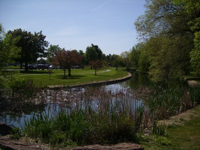 Ann Morrison Park, Southeast, Hole 11 Reverse (back up the fairway)