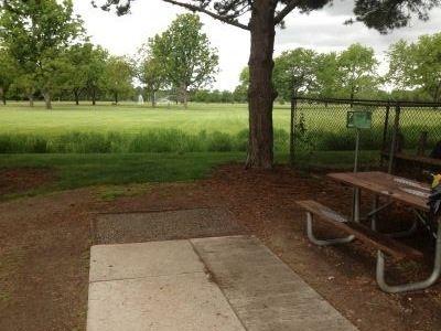 Ann Morrison Park, Southeast, Hole 7 Tee pad