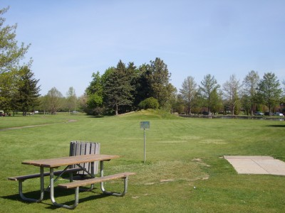 Ann Morrison Park, Southeast, Hole 12 Tee pad